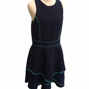 Adelyn Rae Stitch Fix Janyce Dress Navy M NWT